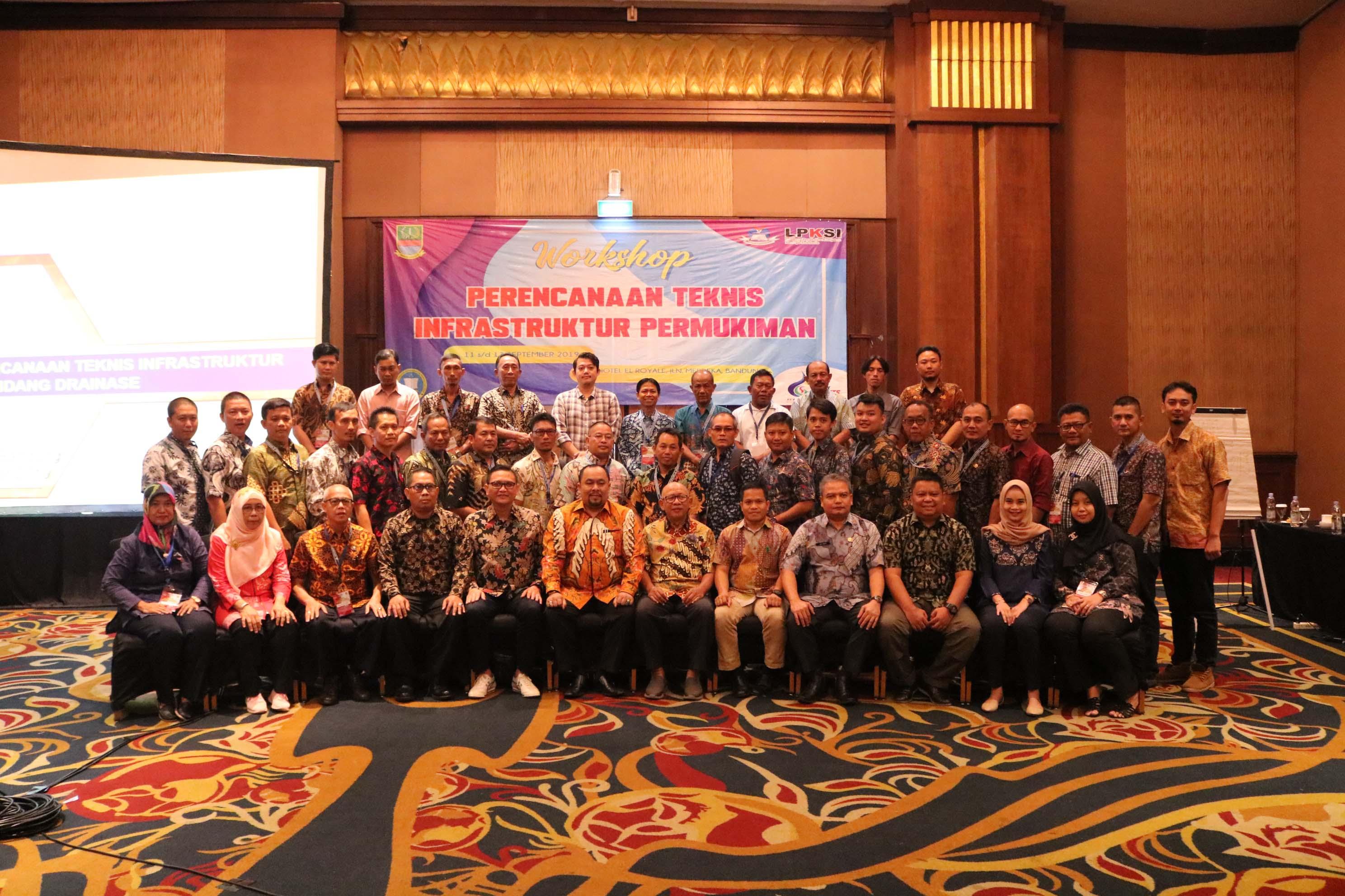 Workshop Perencanaan Teknis Infrastruktur Permukiman III